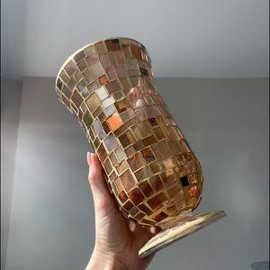 Pier 1 mosaic vase